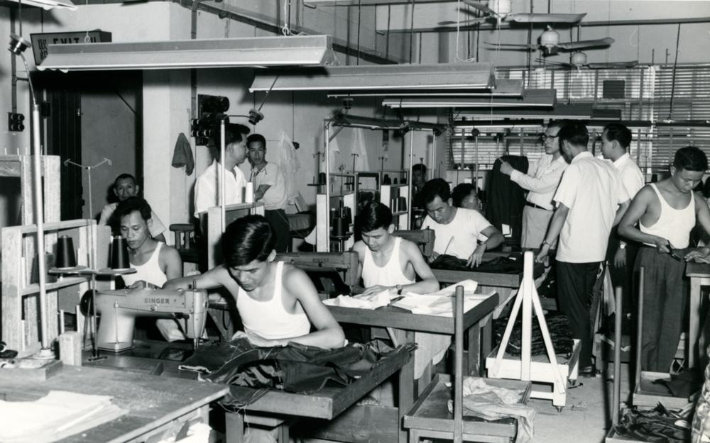 製衣業,香港的夕陽餘暉