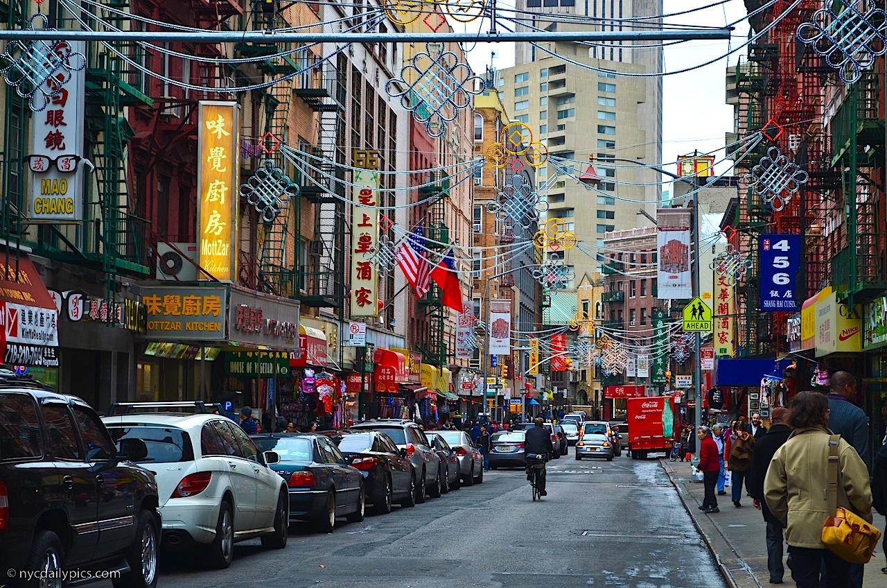 曼哈頓華埠