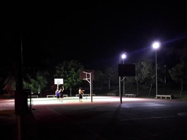 校園鬼故事 - 散文系列 - 放學後的籃球場